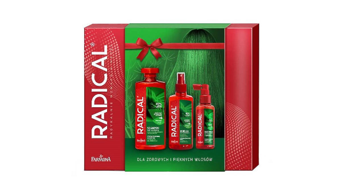 Radical - zestaw kosmetyków do włosów Farmona