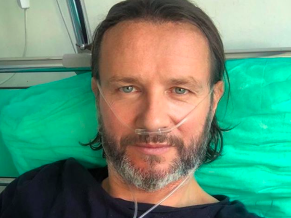 Radosław Majdan w szpitalu