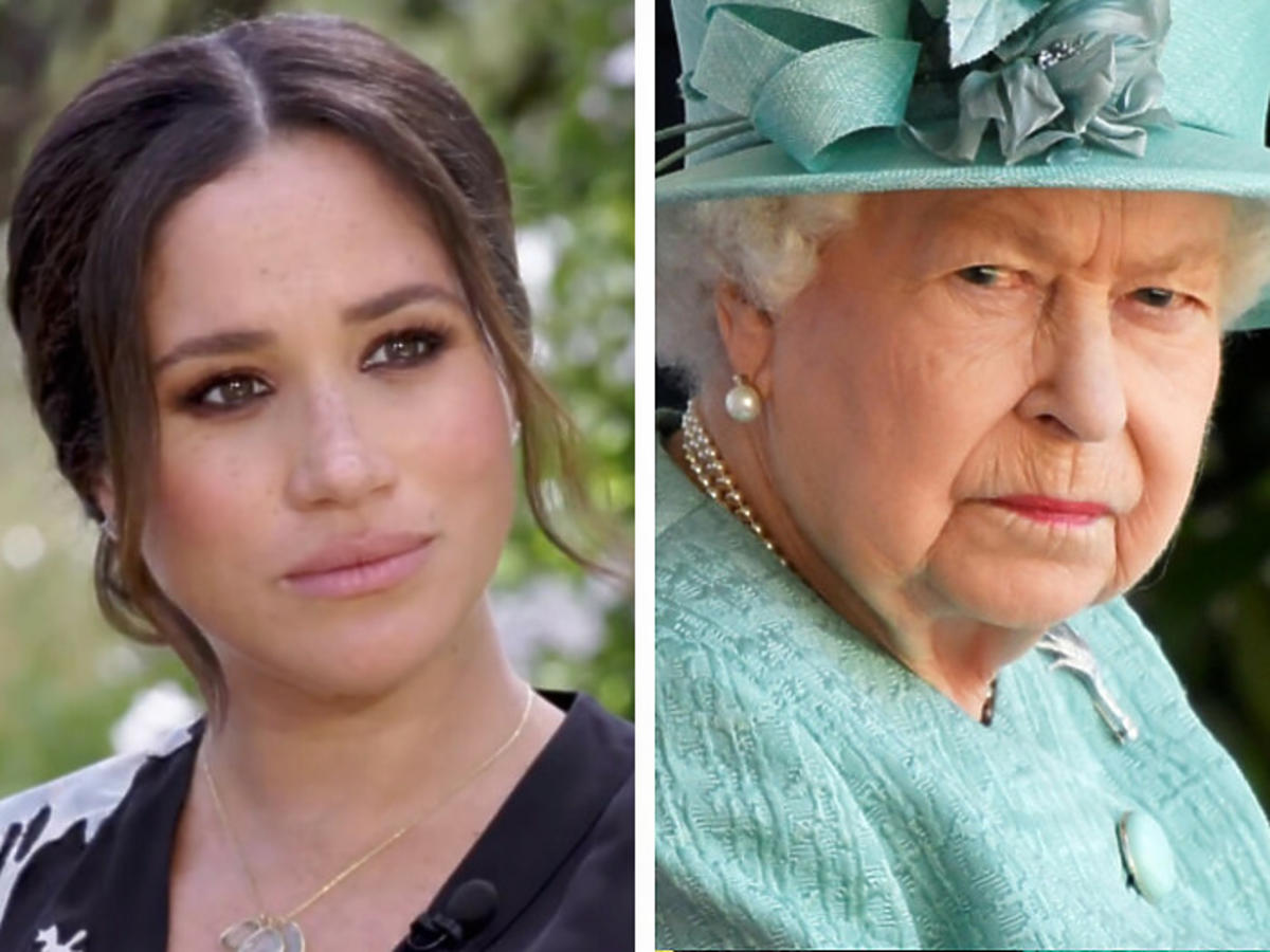Rasizm w rodzinie królewskiej?! Elżbieta II odpowiada na zarzuty Meghan i Harry'ego