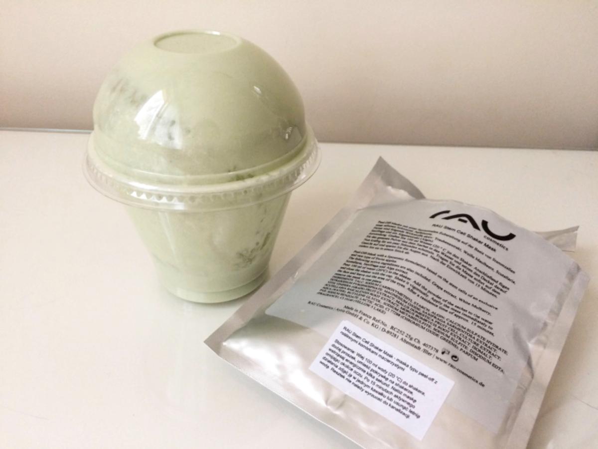 Rau Cosmetics Stem Cell Shaker Mask - maska typu peel-off z roślinnymi komórkami macierzystymi