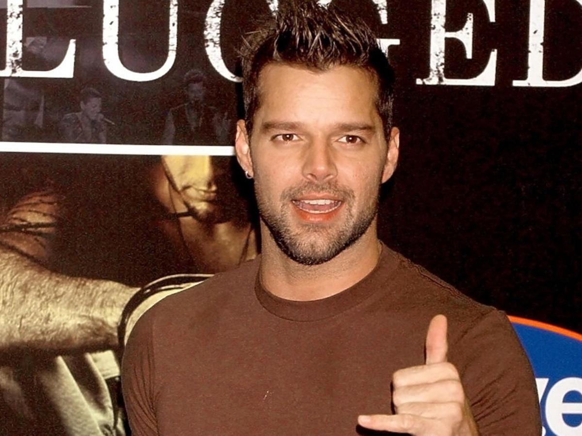 Ricky Martin kiedyś