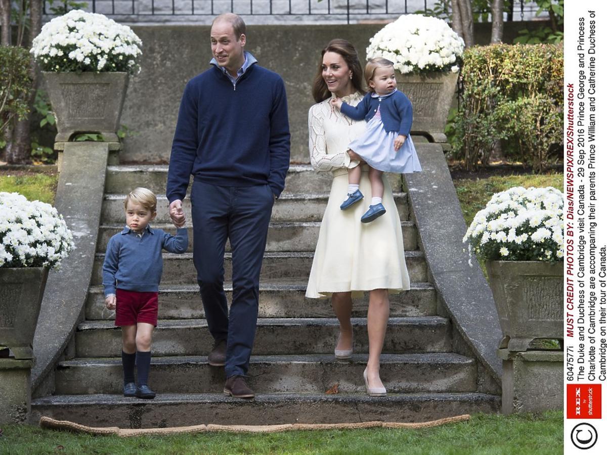 Rodzina królewska w Kanadzie/fot. EN