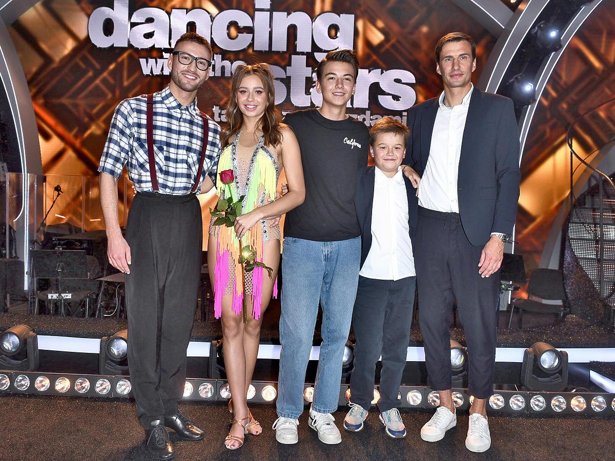 Rodzina Oliwii Bieniuk na planie Tańca z Gwiazdami