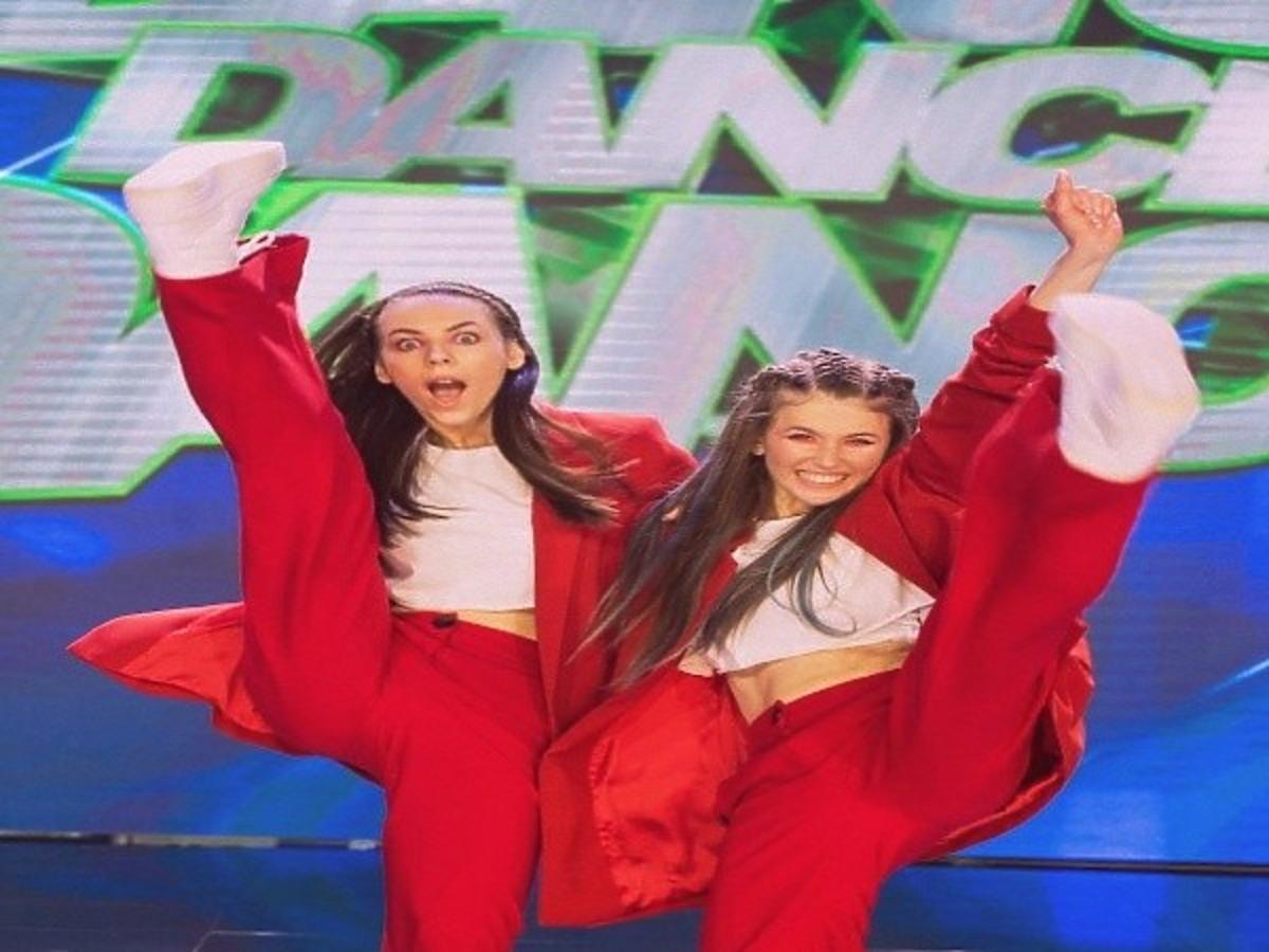 Roksana Węgiel i Oliwia Górniak w programie Dance Dance Dance