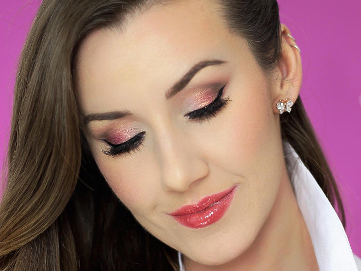 Romantyczny makijaż oczu krok po kroku