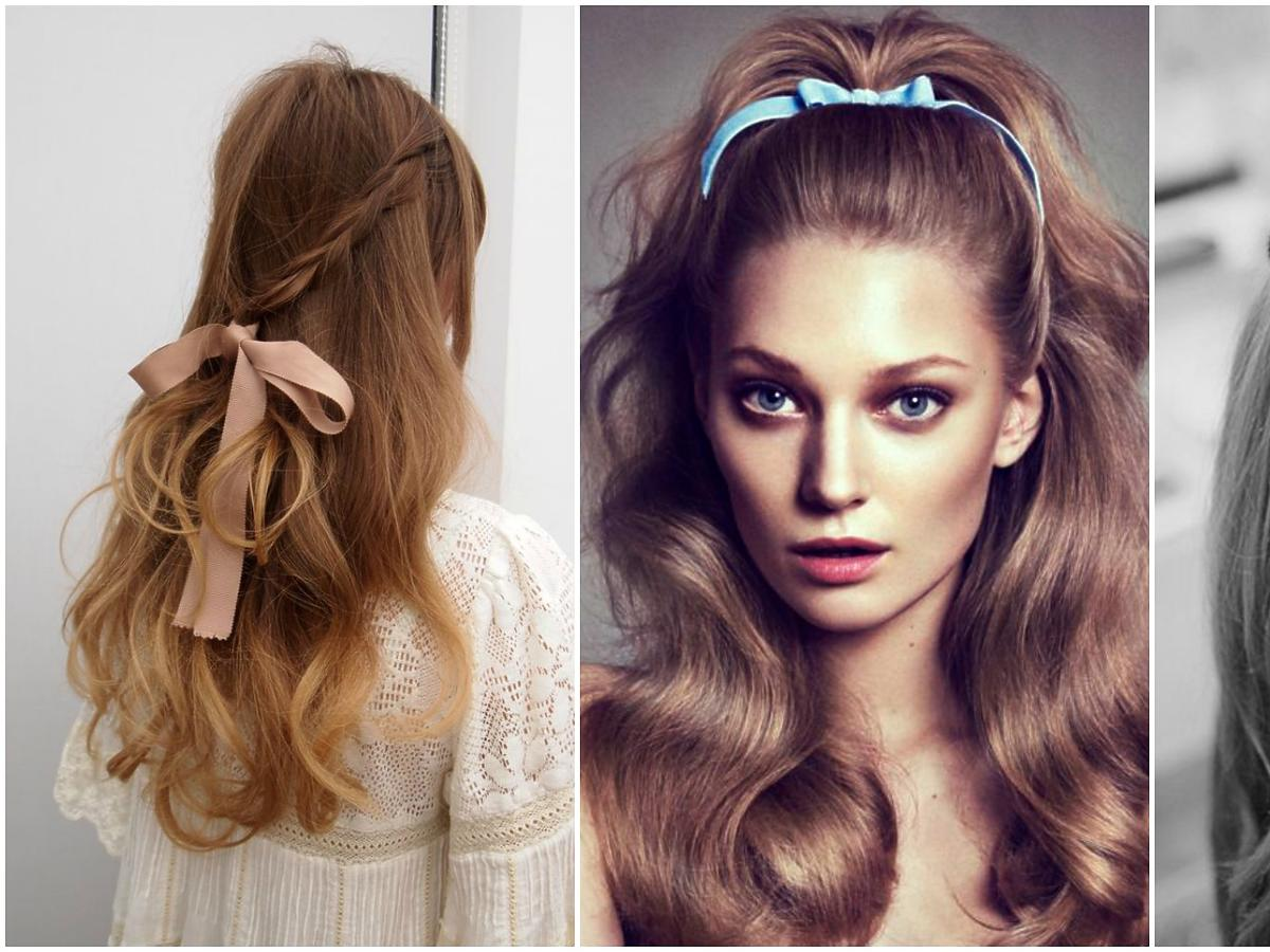 Romantyczny trend: kokardki na włosach