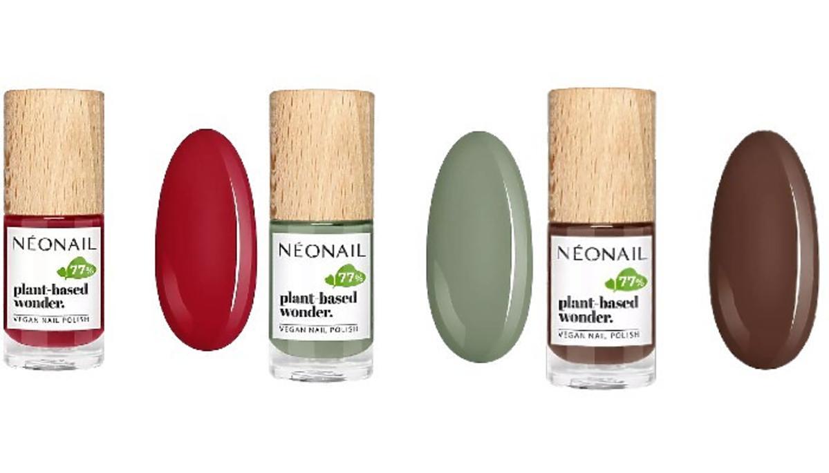 roślinne lakiery do paznokci od Neonail
