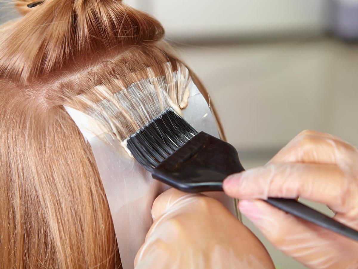 rozjaśnienie włosów