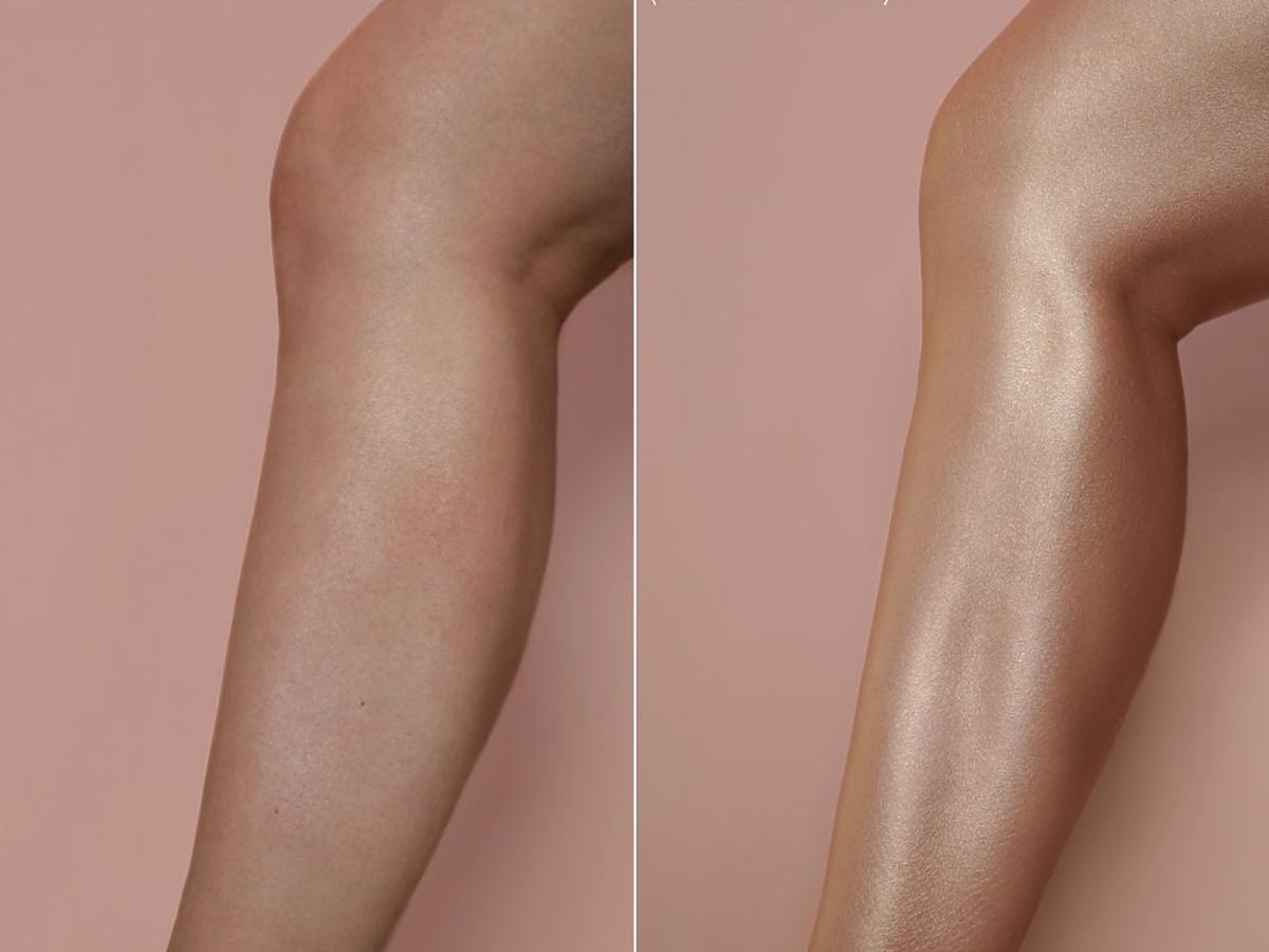 Rozświetlacz do ciała Huda Beauty Liquid Pantyhose [EFEKTY]