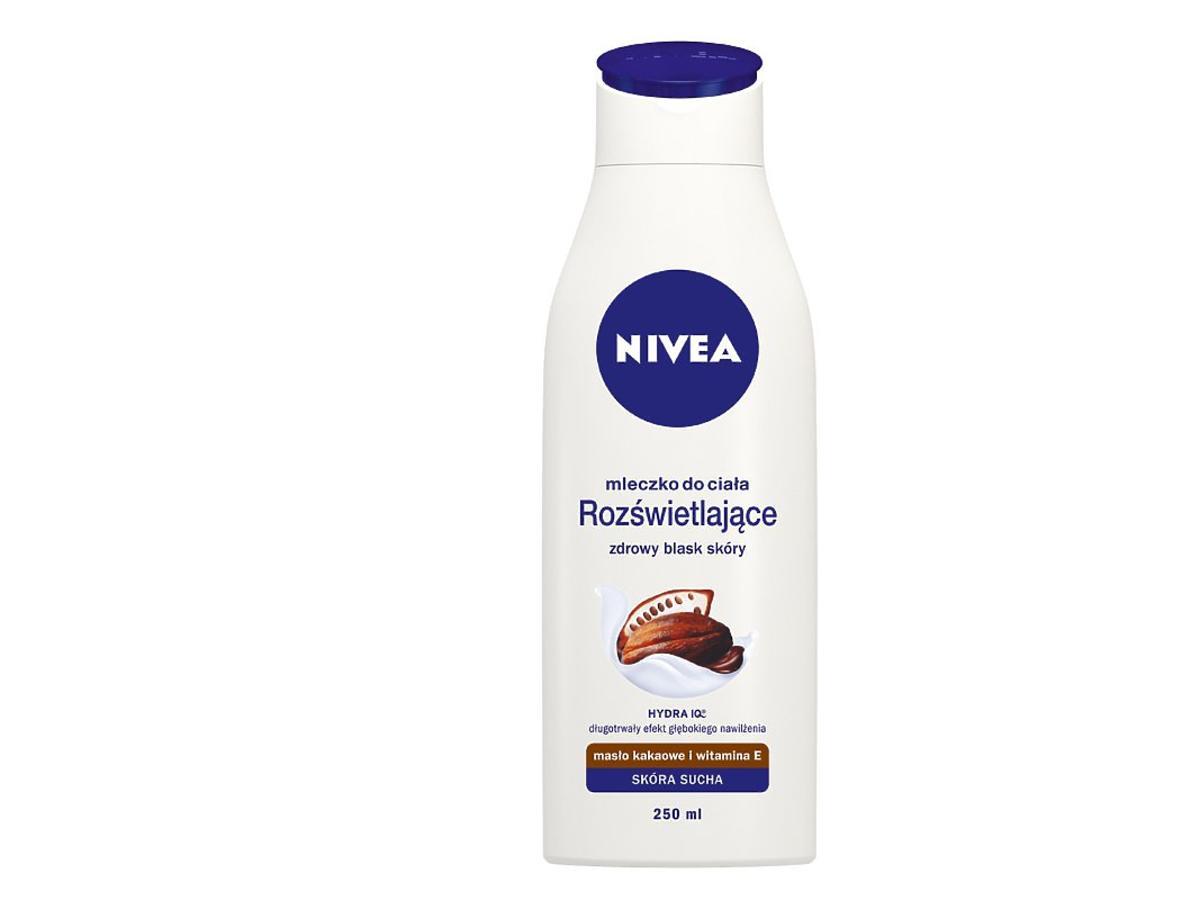 Rozświetlające mleczko do ciała Nivea