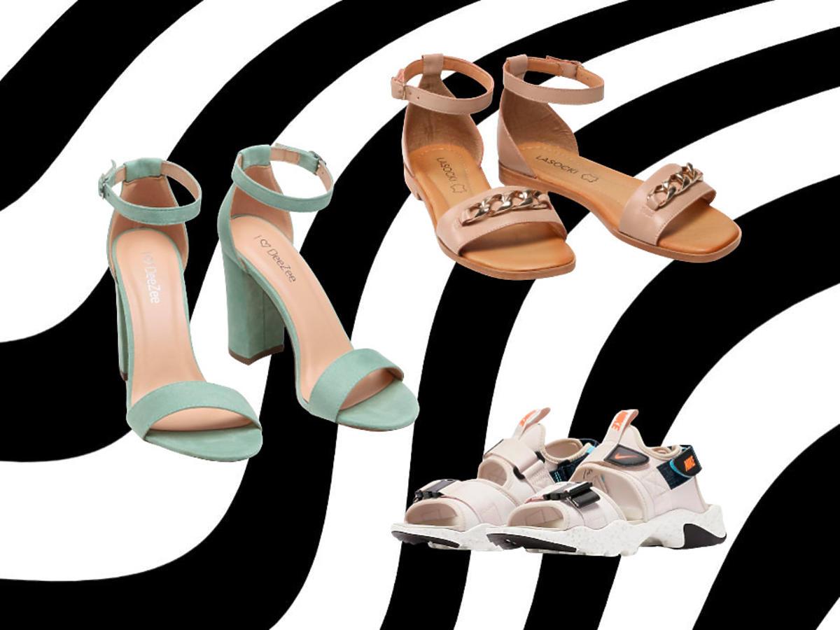 sandały damskie DeeZee, Nike, CCC