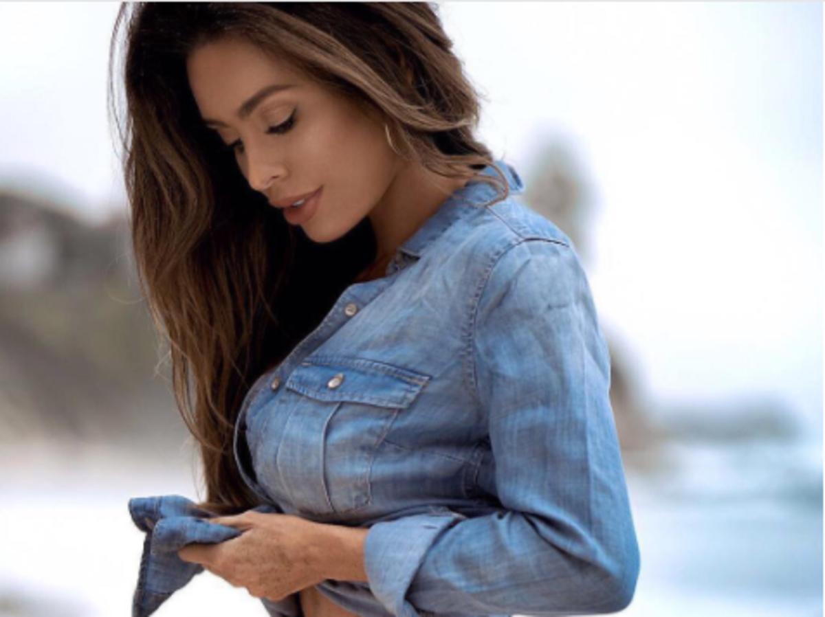 Sarah Stage w 5 miesiącu ciąży