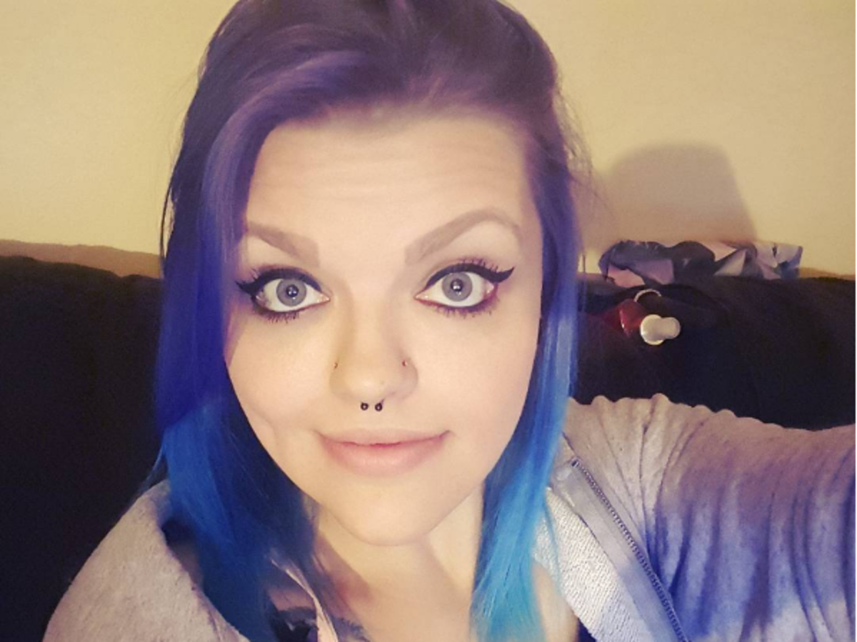 Selfie Kayli Butcher, która schudła 85 kilogramów