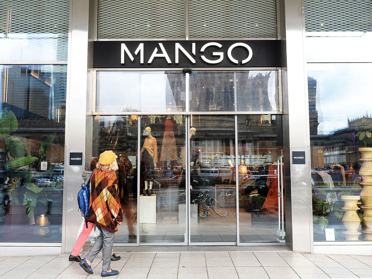 Sklep Mango na Marszałkowskiej w Warszawie