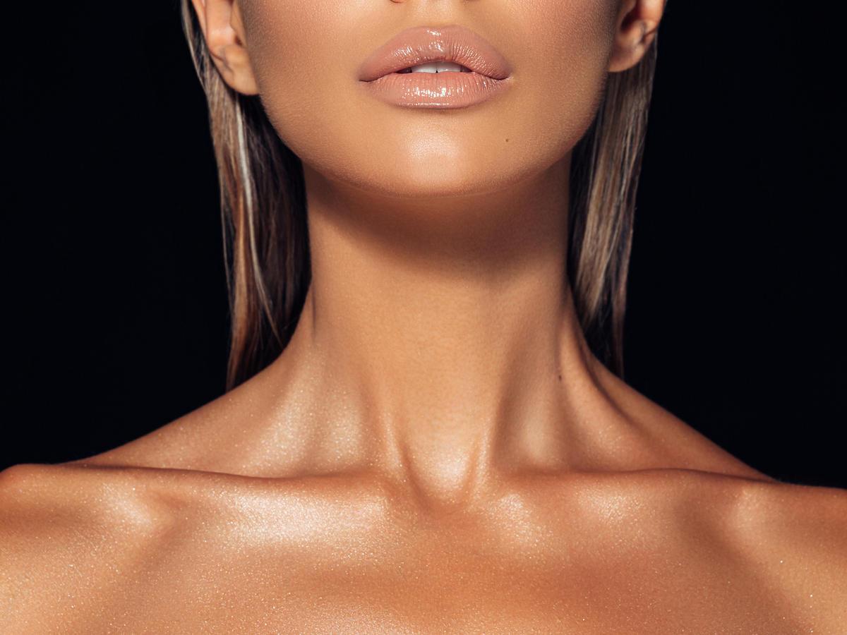 skóra z efektem glow po opalaniu