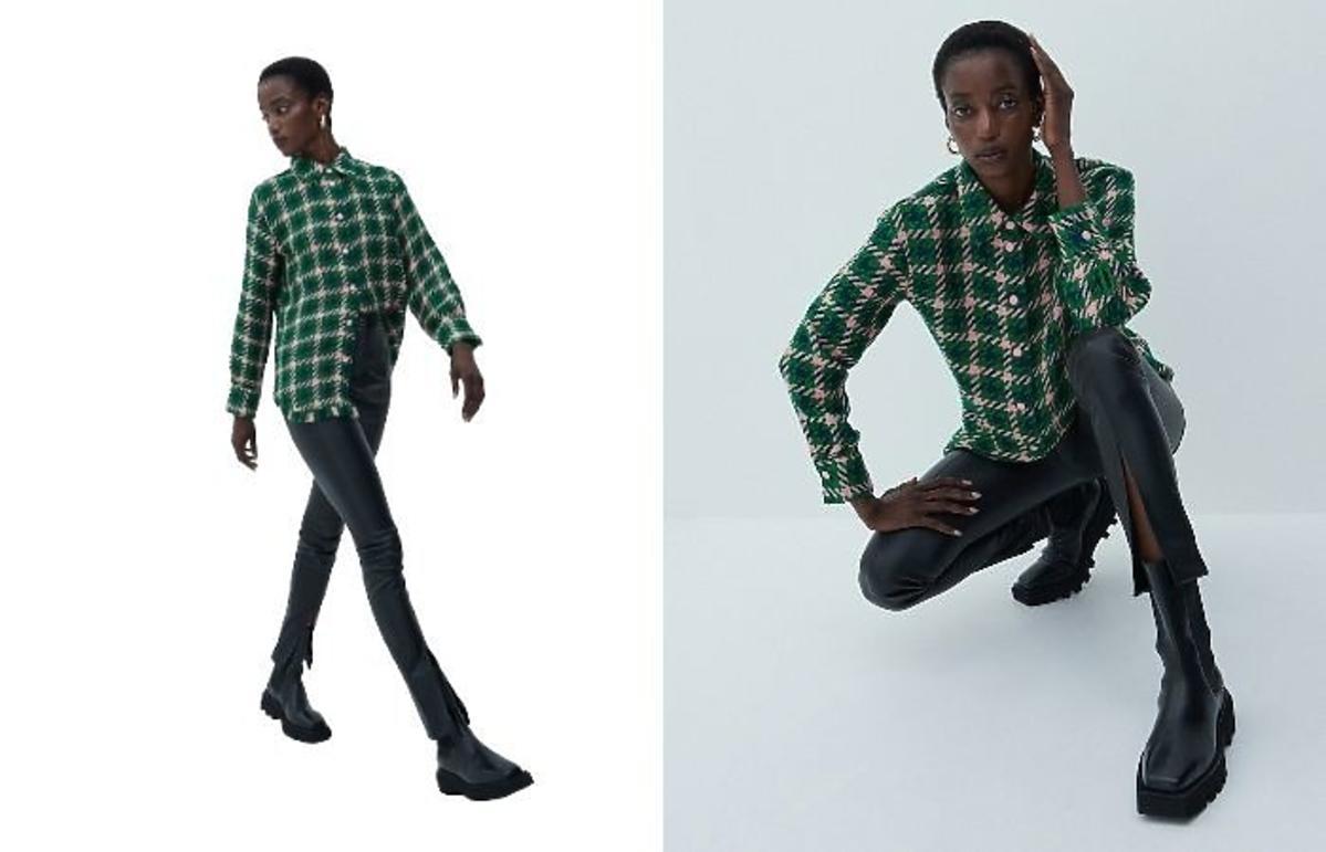 Skórzane spodnie w stylu Kasi Cichopek