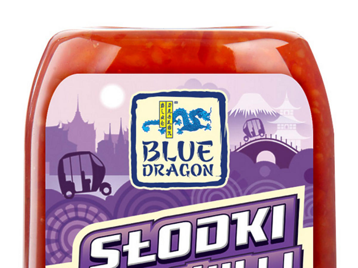 Słodki sos chilii Blue Dragon