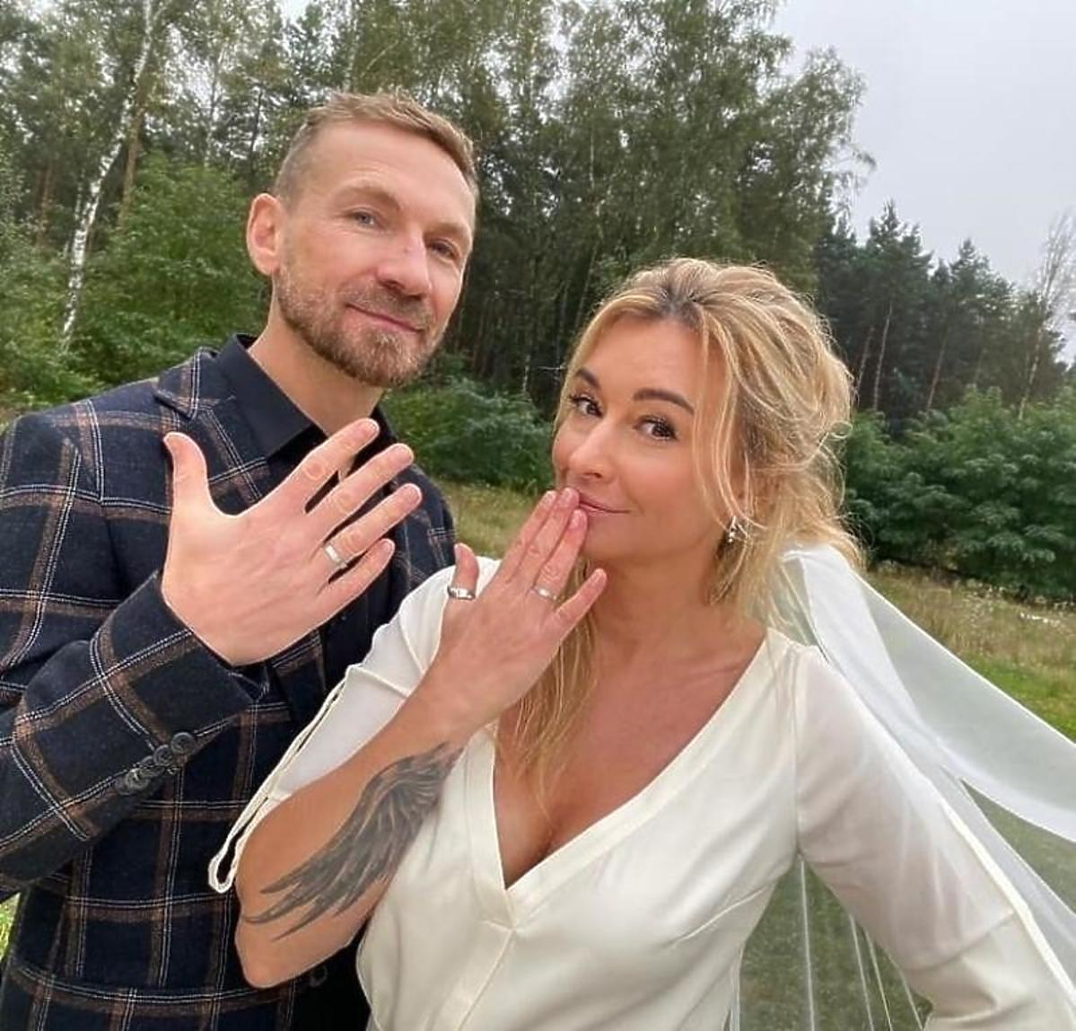 Ślub Martyny Wojciechowskiej i Przemka Kossakowskiego