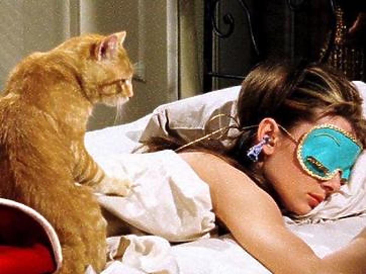 śniadanie u Tiffany'ego śpiąca Holly Golightly