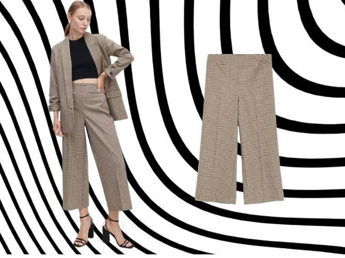 Spodnie w kratkę Reserved