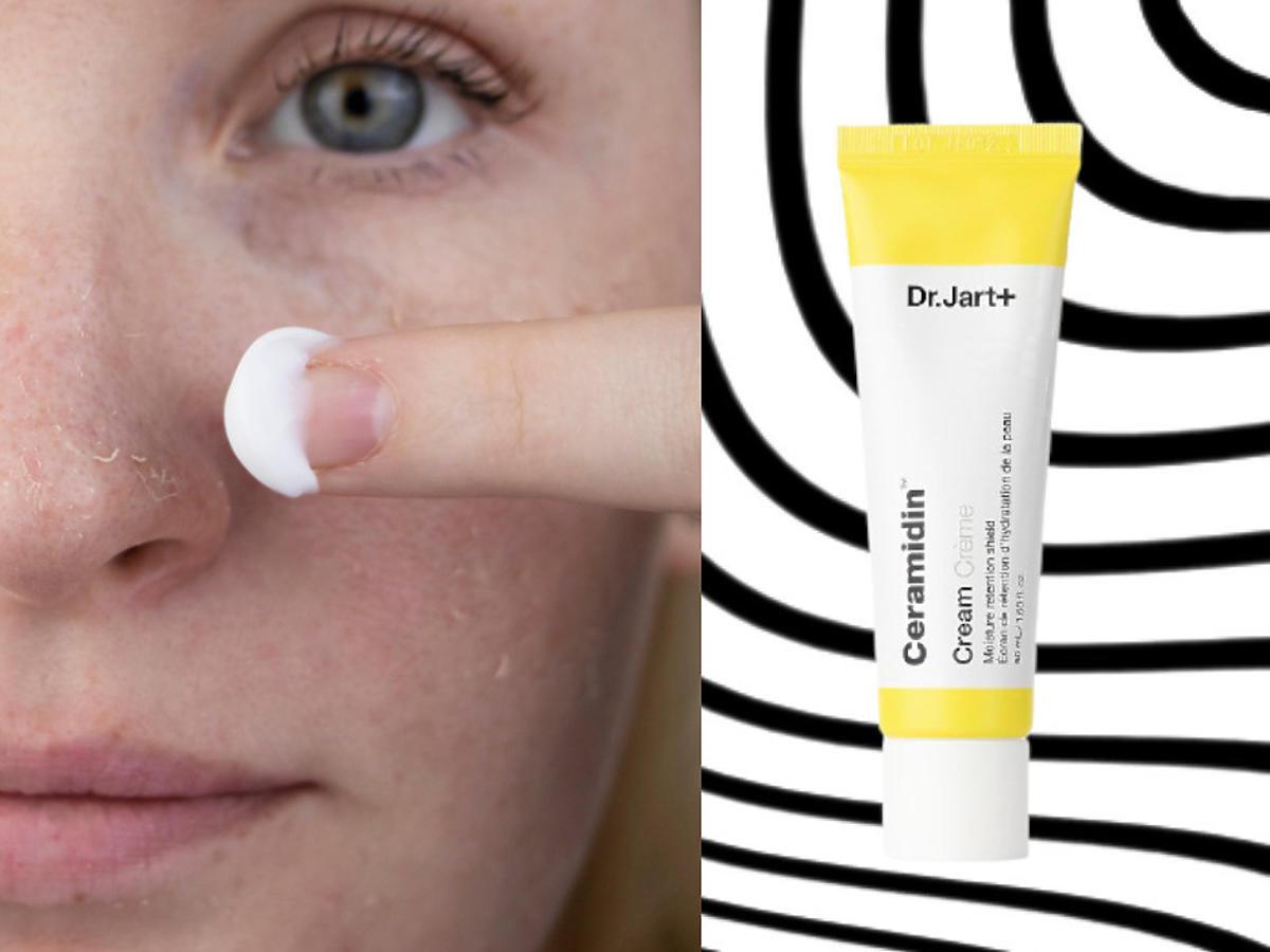 sucha skóra twarzy - krem Dr Jart +