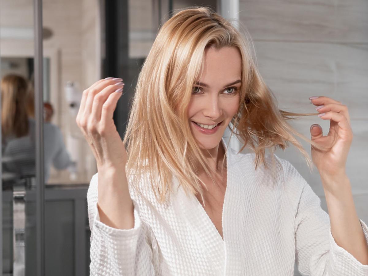 suchy szampon w piance działanie efekty cena