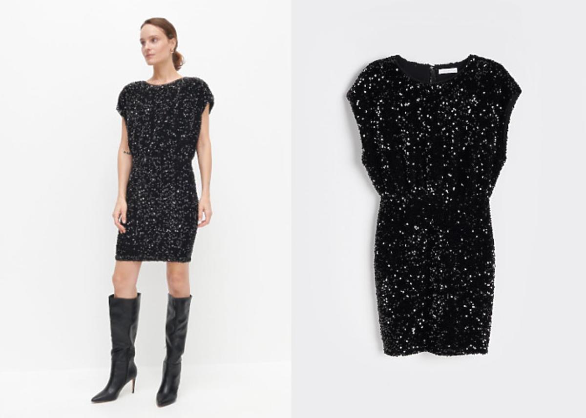sukienka karnawałowa Reserved - mini z cekinami