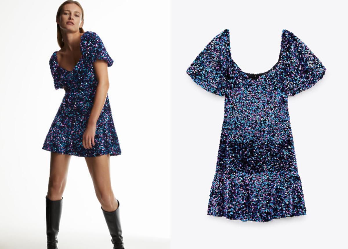 sukienka karnawałowa Zara