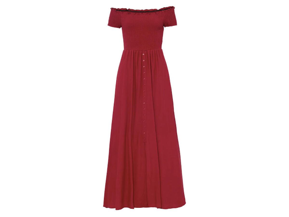 sukienka plus size o długości maxi z Bonprix