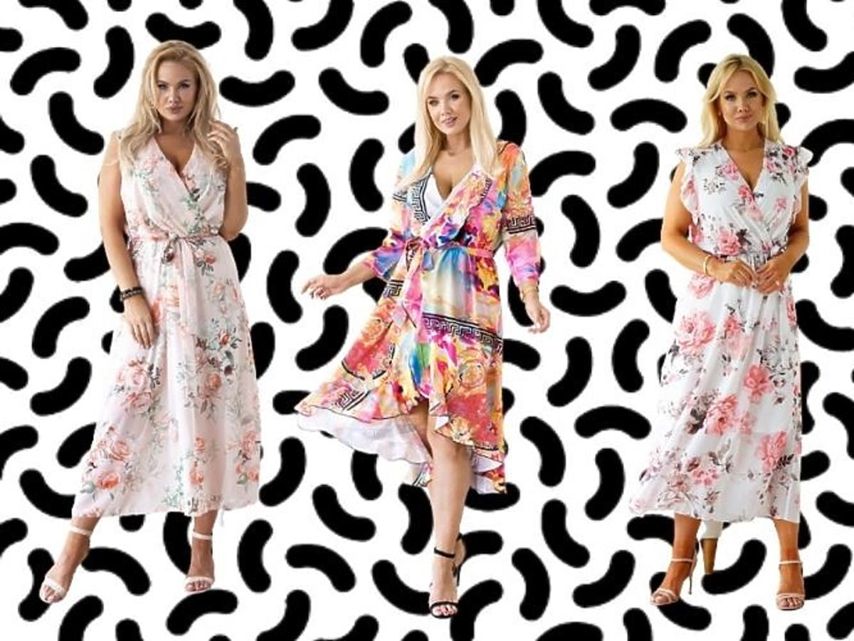 Sukienki letnie plus size