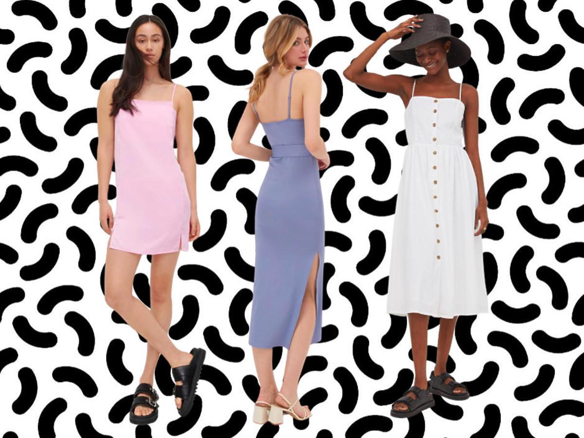sukienki na ramiączkach Reserved, Sinsay, H&M