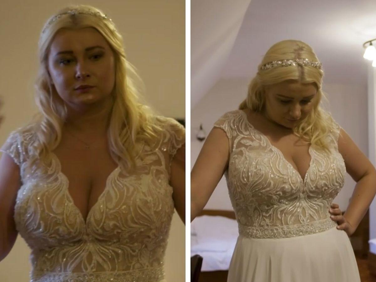 Suknia ślubna Julii ze Ślubu od pierwszego wejrzenia
