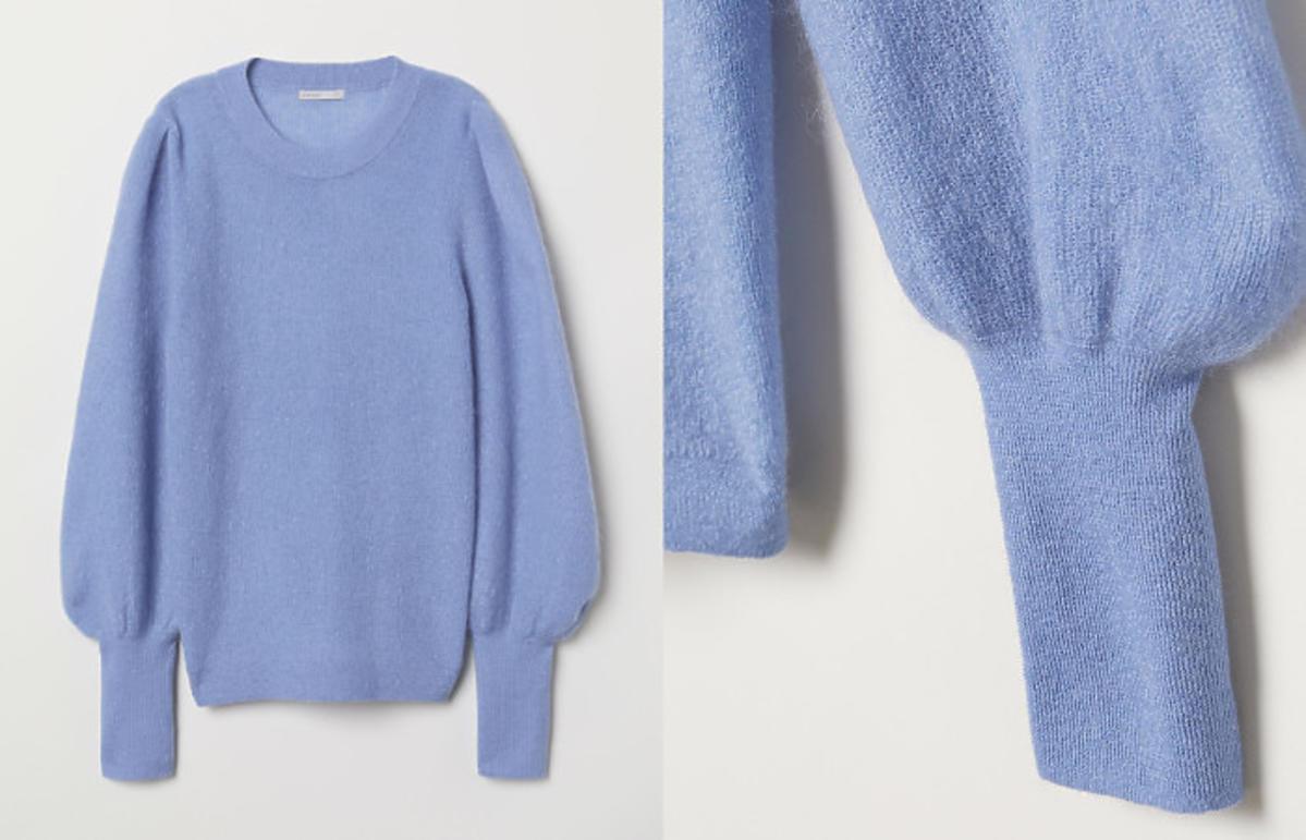 sweter na zimę z H&M
