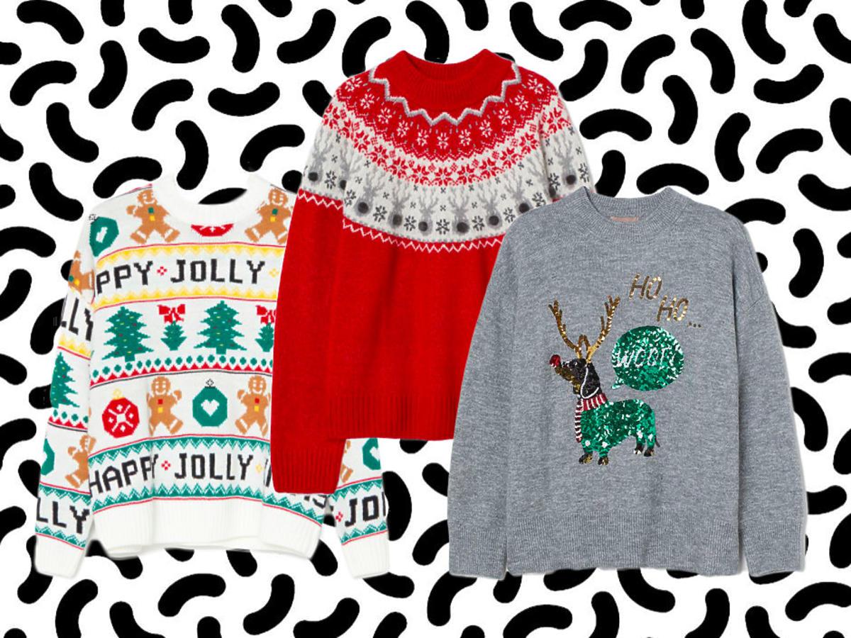 świąteczne sweterki z sieciówki