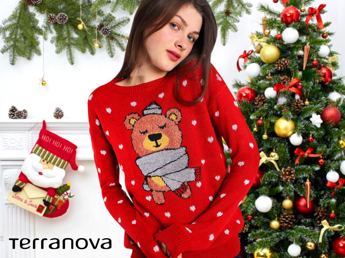 świateczny sweter dla nastolatki