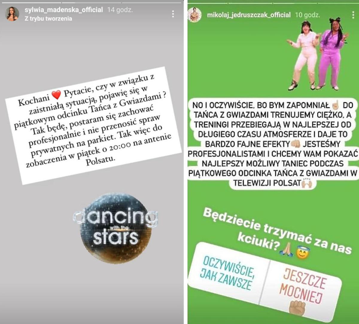 """Sylwia i Mikołaj po rozstaniu już nie będą razem tańczyć w """"Tańcu z Gwiazdami""""? Te słowa nie pozostawiają wątpliwości"""