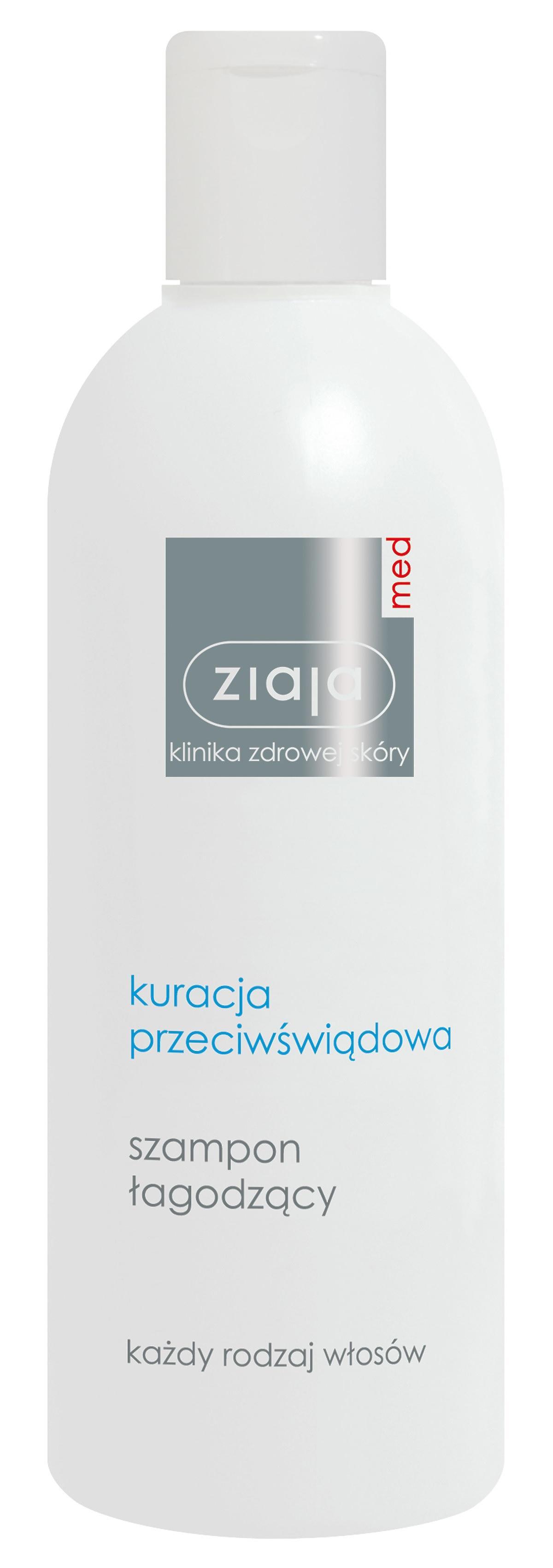 szampon łagodzący ziaja med