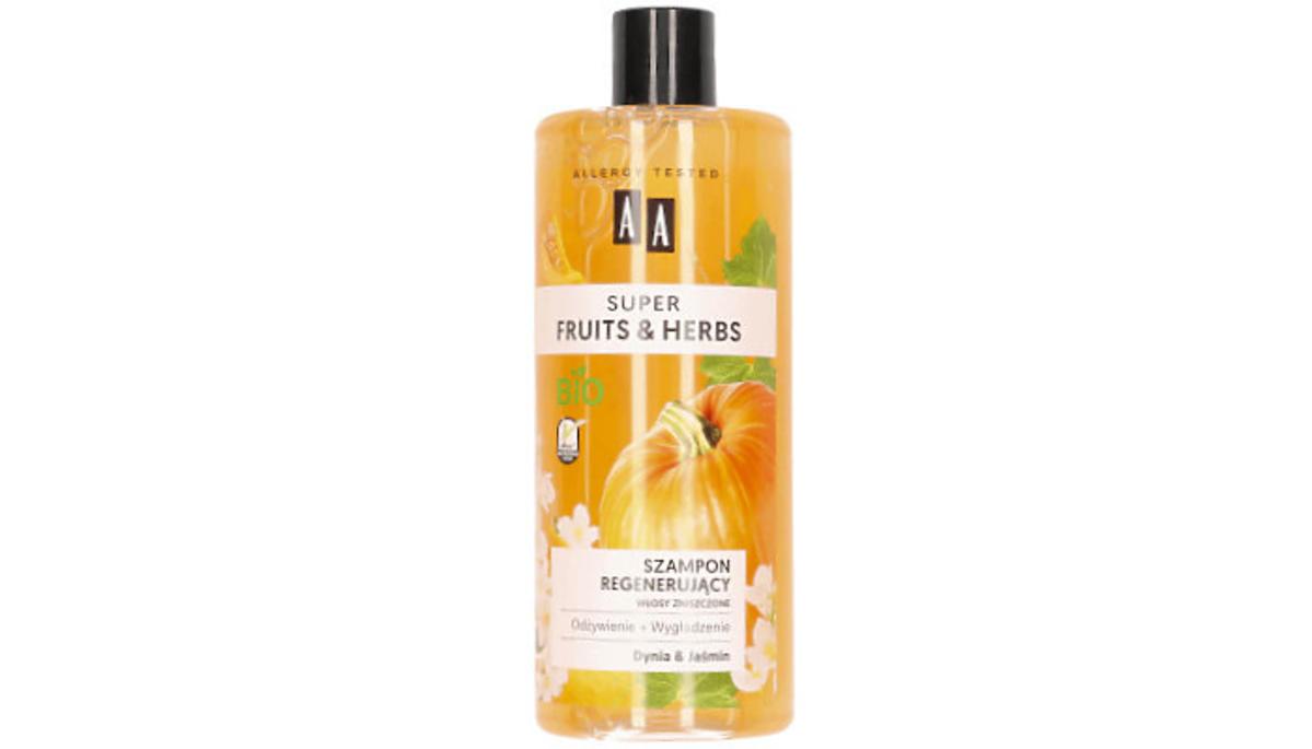 szampon regenerujący AA z dynią
