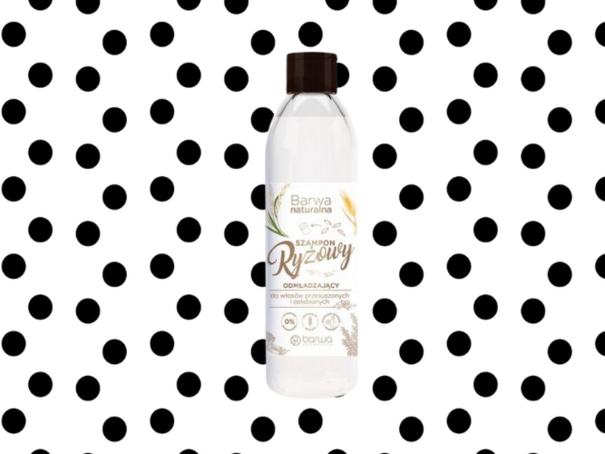 szampon ryżowy Barwa Naturalna