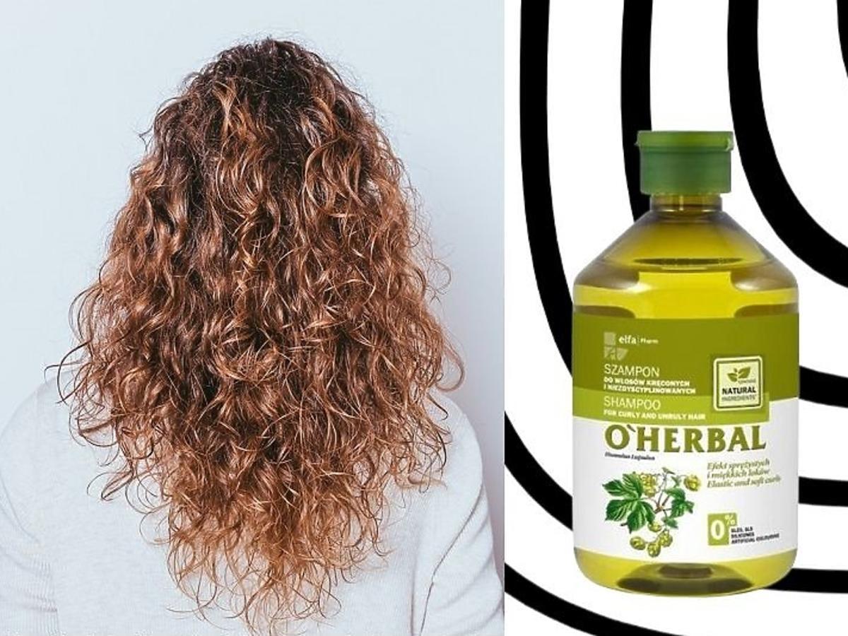 szampony do włosów kręconych