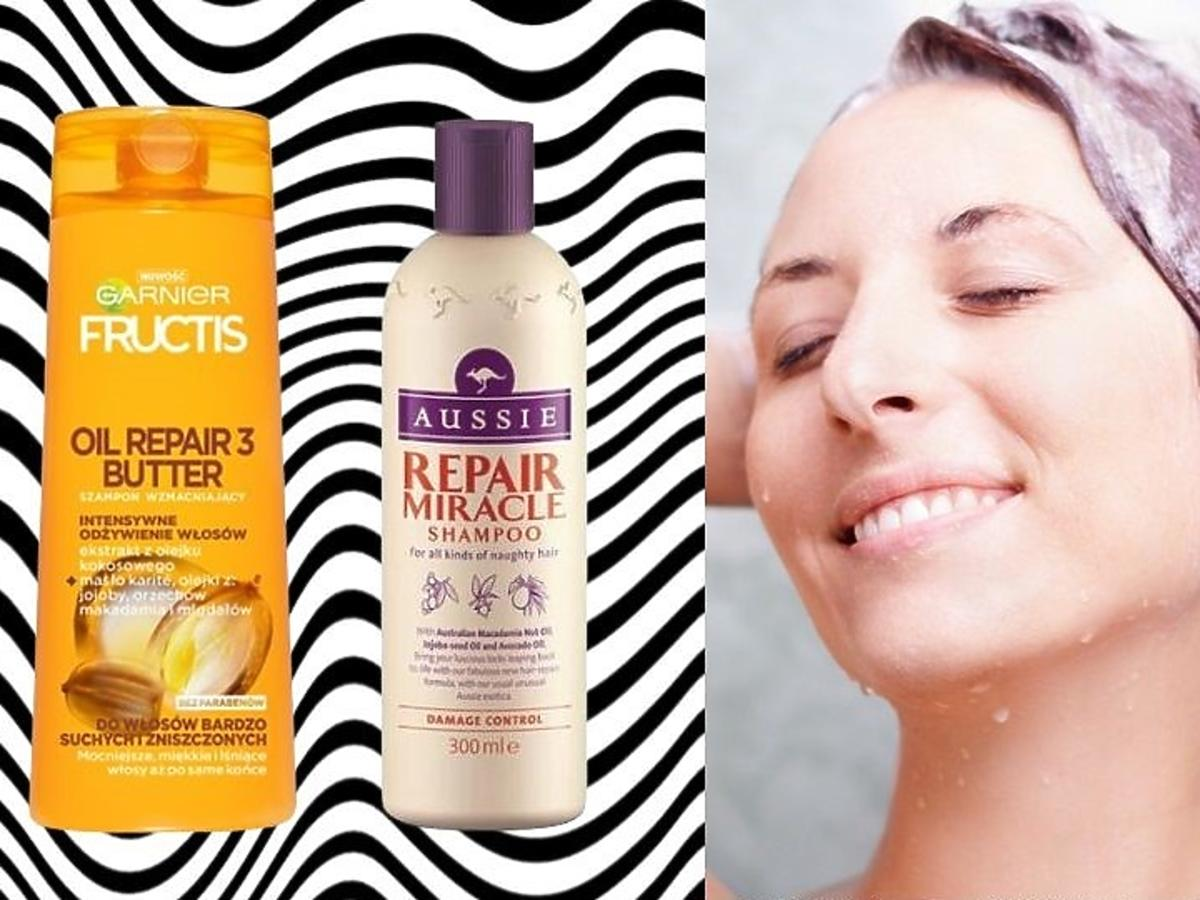 szampony do włosów suchych