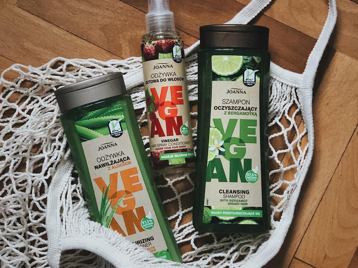 szampony i odżywki Joanna, Vegan