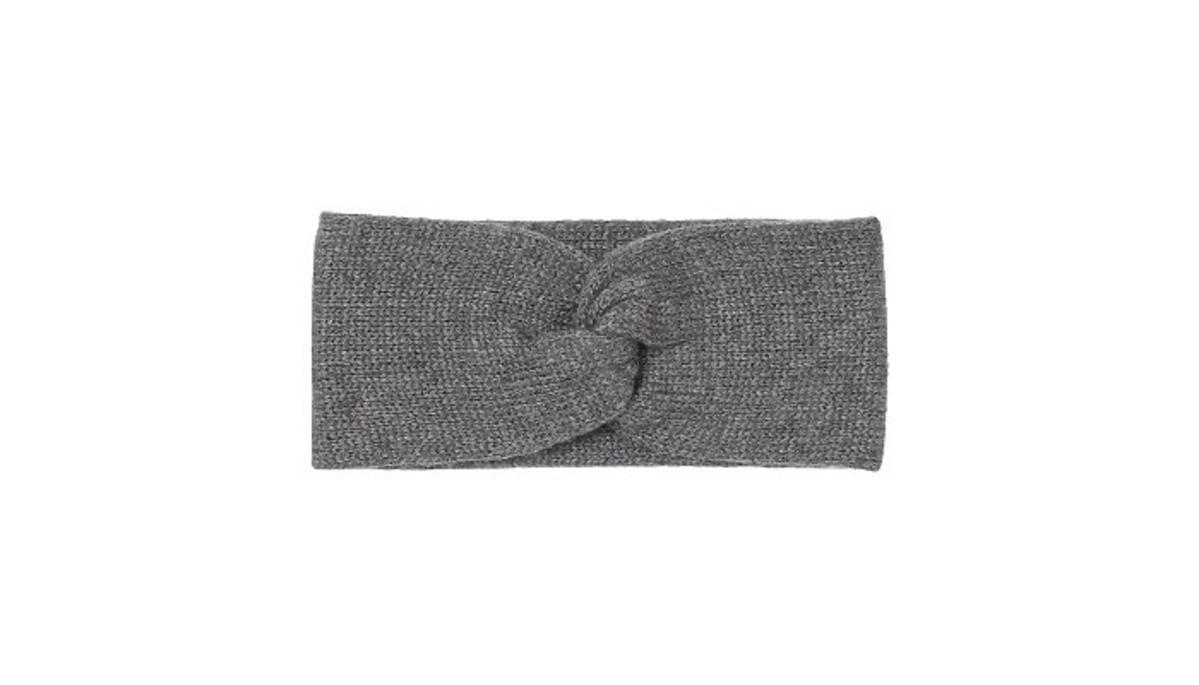 Szara opaska na zimę z H&M