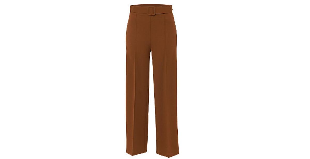 szerokie spodnie BonPrix w stylu Wiktorii Gąsiewskiej