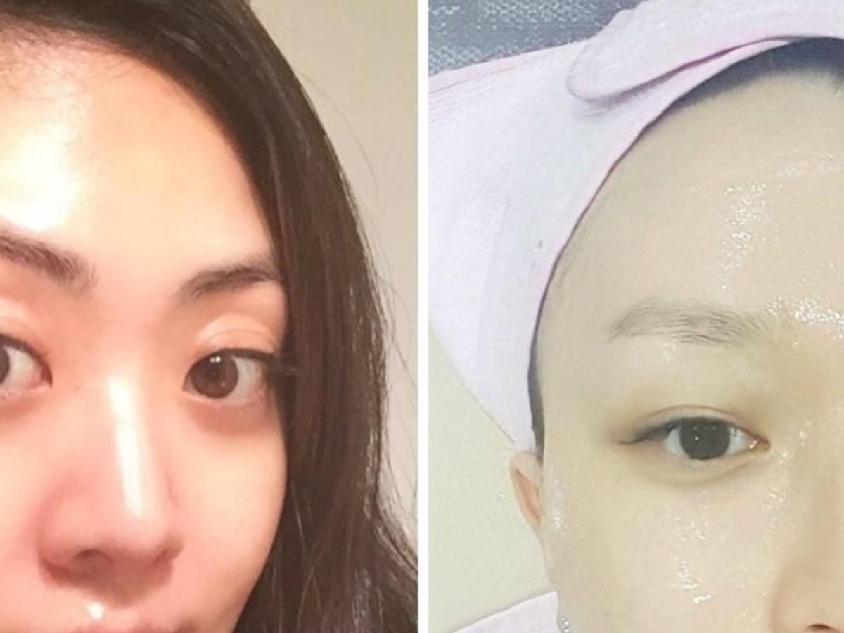 szklana skóry nowy trend z Korei Południowej