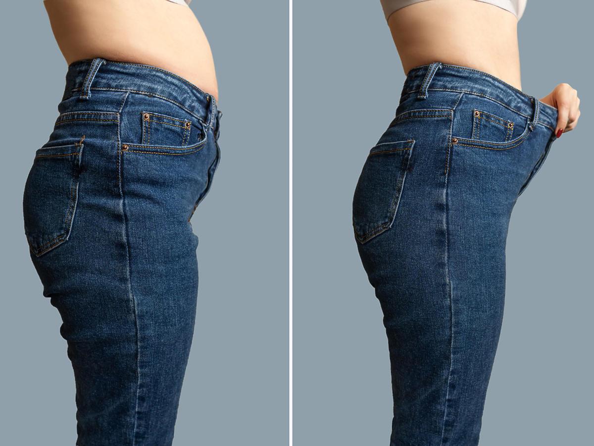 szybka dieta odchudzająca efekty przed i po