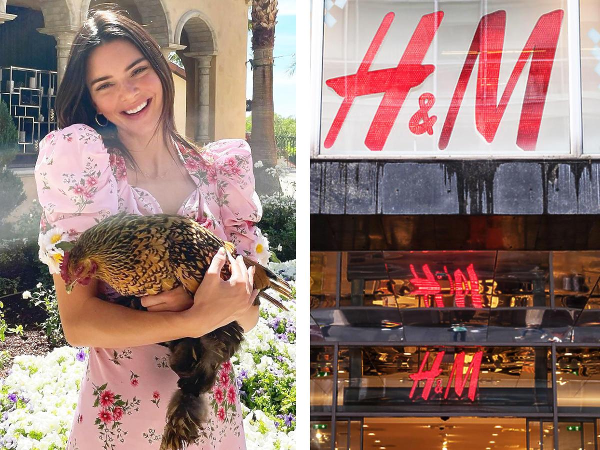 Ta sukienka w stylu Kendall Jenner z wyprzedaży -50% z H&M to hit Instagrama! Kosztuje tylko 29 złotych