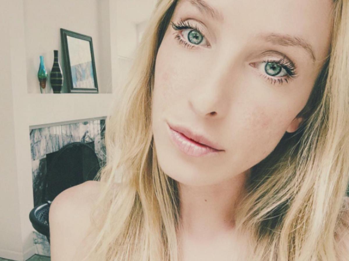 Taylor Muhl - selfie na Instagramie