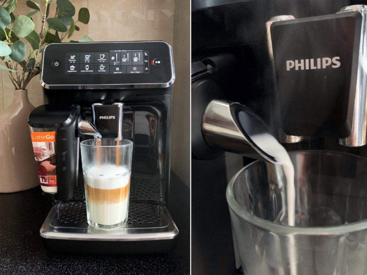 Test ekspresu Philips 3200 LatteGo
