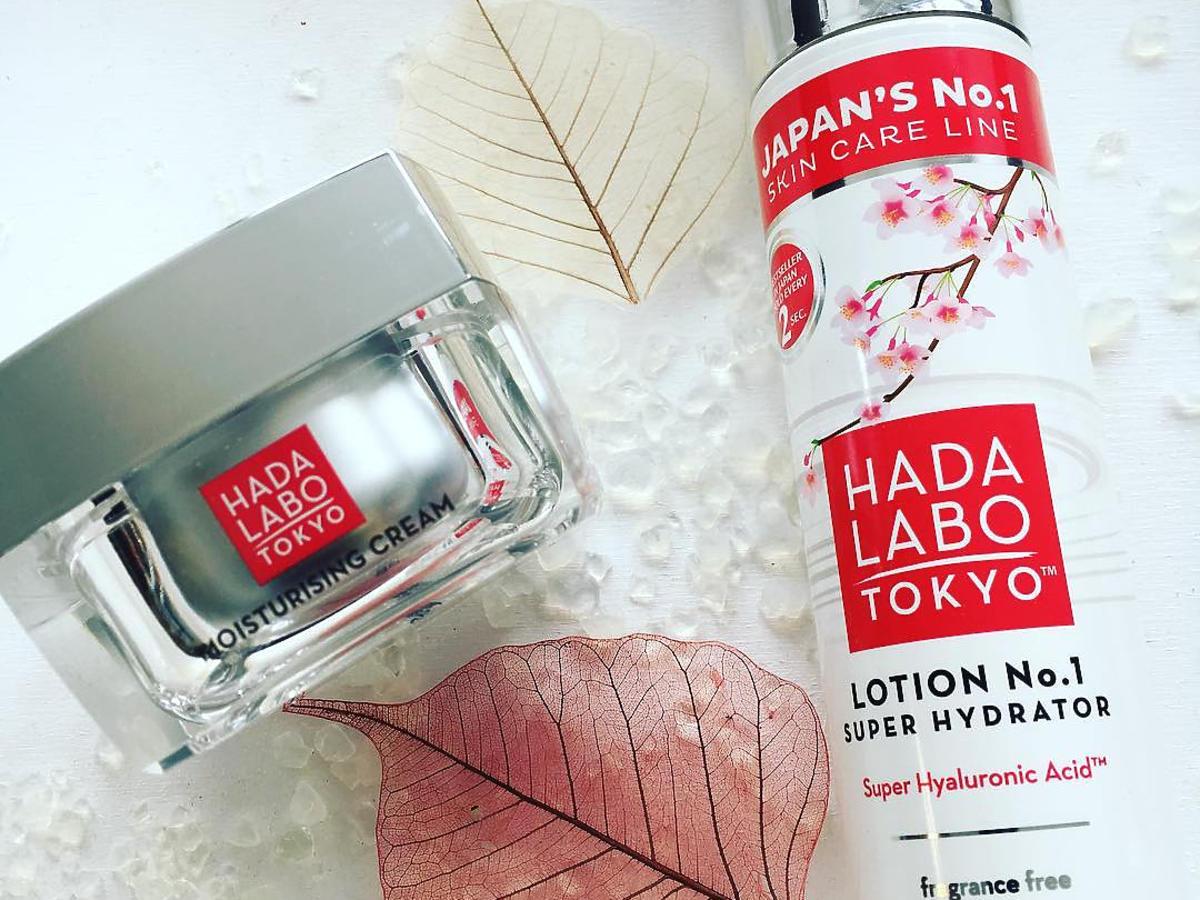 TEST REDAKCJI: nawilżający duet od Hada Labo Tokyo